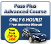 Latest Driving Lesson Products - Pass Plus Advanced Course