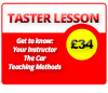 Latest Driving Lesson Products - Taster Driving Lessons