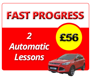 Driving Lesson Offers & Deals - 2 Automatic Driving Lessons in Cambridge
