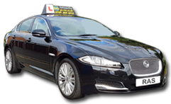 Jaguar Driving Lessons with Go RAS in Cambridge